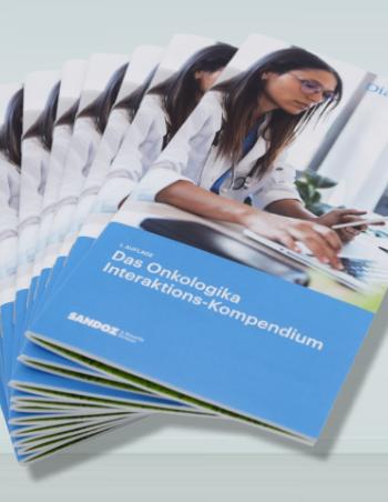 Onkologika Interaktions-Kompendium-Broschüre